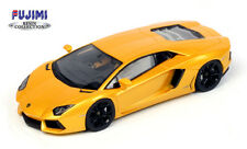 Fujimi - 2012 Lamborghini Aventador LP700-4 Pearl Yellow - 1:43 #TSM11FJ015 NEW