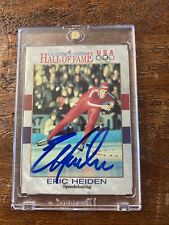 Eric Heiden Signed US Olympic Hall Of Fame Card Psa Dna Coa Autographed