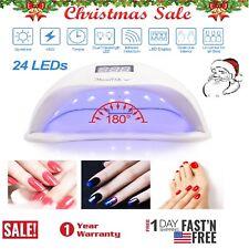 🔥Professional Led Uv Nail Dryer Gel Polish Lamp Salon Curing Manicure Machine