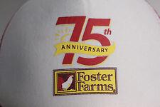 "75th ANNIVERSARY Foster Farms ""TAKE75.com"" Trucker Hat Baseball Cap"