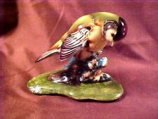 GORT CHINA CO., BIRD FIGURAL, GOLDFINCH, MINT CONDITION, signed, c1947