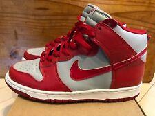 8758e3ca9c5f 1999 Nike Dunk High LE Ultraman Silver   Varsity Red size 9