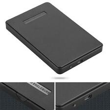 USB 2.0 Hard Drive External Enclosure 2.5 inch SATA HDD Mobile Disk Box Cases #M