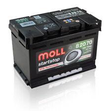 Moll EFB 82070 Start Stop Batteria auto batteria di avviamento 70ah pronto per l'uso * *