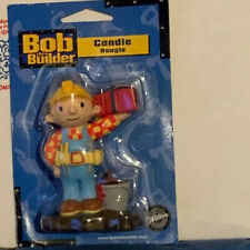 Bob the Builder Candle Cake Topper Party Wilton Baking Supply Decoration