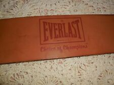 VINTAGE M EVERLAST LEATHER WEIGHT LIFTING BELT NO. 1011 AUCTION SALE