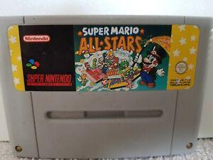 Super Mario All Stars sur Super Nintendo SNES sans boite