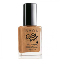 Avon GEL FINISH 7 in 1 Nail Enamel GLIMMER Sparkle Finish! New in Box!