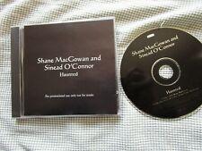 Shane MacGowan And Sinéad O'Connor Haunted Label: ZTT ZANG65CD Promo CD Single