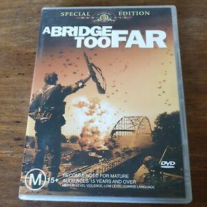A Bridge Too Far Special Edition DVD R4 Like New! FREE POST