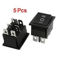 5 x interrupteur a bascule 6 Pin DPDT 15A/250V 20A/125V AC 3 Position ON-OFF- XH