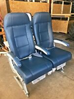 B767-300 Coach Main Cabin Seats Double Leather