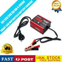 Pulse Repair Type  6V/12V Car Battery Charger Intelligent 4-200AH  LED Display