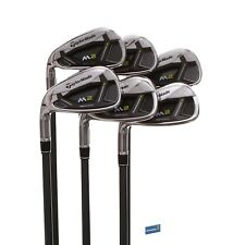 TaylorMade M2  Left Handed Graphite Irons 5-PW / Senior Shaft REAX 55