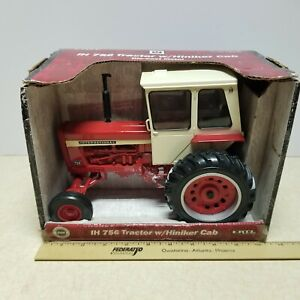 Toy ERTL IH 756 Tractor W/ Cab 1/16 Die Cast STK #14124 Custom International