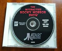 Rocky Horror Show Preview Atari Interactive Prototype PC Rolling Demo Rare!