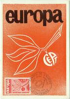 CARTE MAXIMUM 1er JOUR - EUROPA 1965 N° 1455 - STRASBOURG