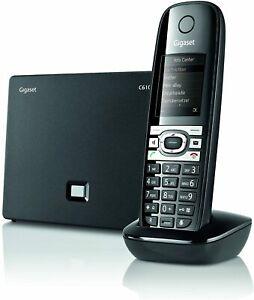 Gigaset C610 IP Hybrid-Dect-Schnurlostelefon,analog und VoIP (ALL-IP) TFT-Farbdi