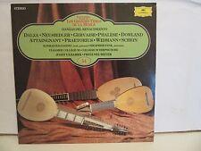 Dalza, Neusiedler, Gervaise - Danzas Del Renacimiento - 1984 - Spain - EX+/NM+