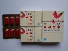 1 Packs Bai He Di Huang Capsules (6 Per Pack) Improved Mr. Dragon Pure Herbal