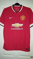 Mens Football Shirt - Manchester United - Home 2014-2015 - Nike - L - Chevrolet