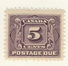 Canada Stamp Scott # J4 5-Cents Postage Due MH
