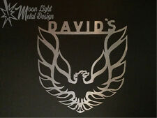 Pontiac Firebird Logo With Name Personalized Sign