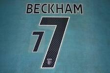 FIFA WORLD CUP 2007-2009 England #7 BECKHAM Homekit Name Set Printing