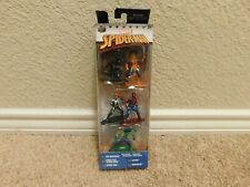 New in package Marvel Spider-Man 5 pack nano metalfigs figure collector's set