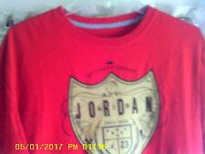 "Air Jordan (Michael Jordan #23) ""AJ-VI"" 1991-1998 6-Rings Red t-shirt SZ-Large"