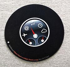 Apple Dashboard Circular Mouse Pad