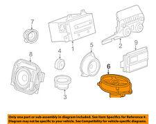 Chevrolet GM OEM 10-15 Camaro Stereo Audio Radio-Package Tray Speaker 23265819