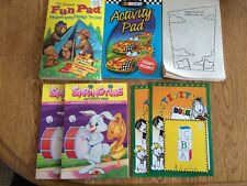 Activity Pad Mixed Lot