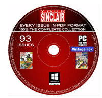 Your Sinclair Complete Magazine Collection All Issues Spectrum QL ZX81 Games DVD