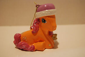 My Little Pony  Sparkleworks Christmas Holiday Ornament  2004 NWT MLP G3