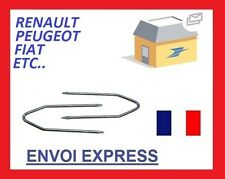 Clés clef extraction autoradio renault citroen peugeot fiat ford opel 4trous