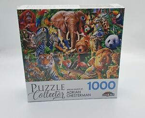 Puzzle Collector - African Wildlife - 1000 Piece Jigsaw Puzzle