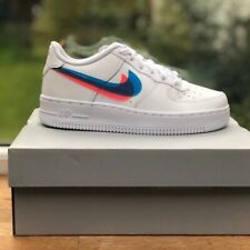 Nike Air Force 1 3D Swoosh GS - Size 3 UK / 3.5 Y