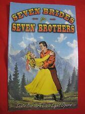 Santa Barbara Civic Light Opera Playbill - SEVEN BRIDES for SEVEN BROTHERS 1997