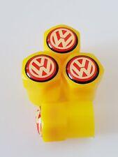 VW volkswagen valve DUST CAPS PLASTIC NON STICK All cars bikes 7 colours t5 t6
