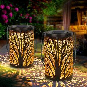 LED Solar Laterne Aussen Solarlaterne Außen Solarleuchte Garten Hängend Deko