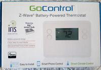 GoControl Smart Programmable Thermostat Z-Wave GC-TBZ48L -  Iris