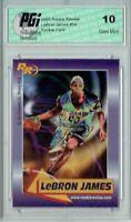 @ LeBron James 2003 Rookie Review #59 Rookie Card PGI 10 Gem Mint