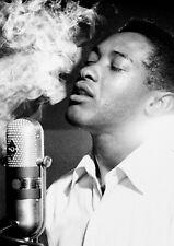"Reproduction Alternate ""Sam Cooke - Studio, B & W"" Poster, Motown, Size A2"