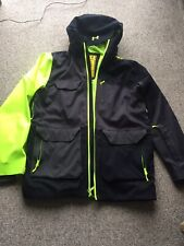 Under Armour Mens Ski Snowboard Jacket Neon Green Size L