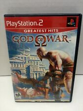 GOD OF WAR Greatest Hits (Sony PlayStation 2 ps2 COMPLETE GAME CASE MANUAL