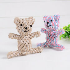 Cotton rope bear Toys Dog Chew toy Resistance To Bite Pet PuppyALUK