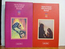 Bücherpaket Maria Scherer 2 Bücher - Maskenball / Silbertrompete