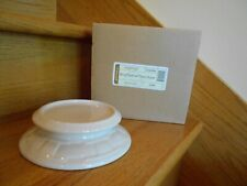Longaberger Candle Holder Ivory Woven Traditions new in box *shipping included!*
