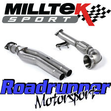 "Milltek Audi RS3 8v Exhaust Primary Decat Bypass Pipe & Turbo Elbow 3"" SSXAU593"